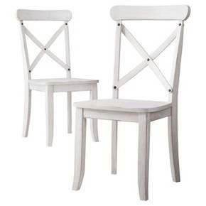 Harvester X Back Dining Chair Acorn Set Of 2 Beekman