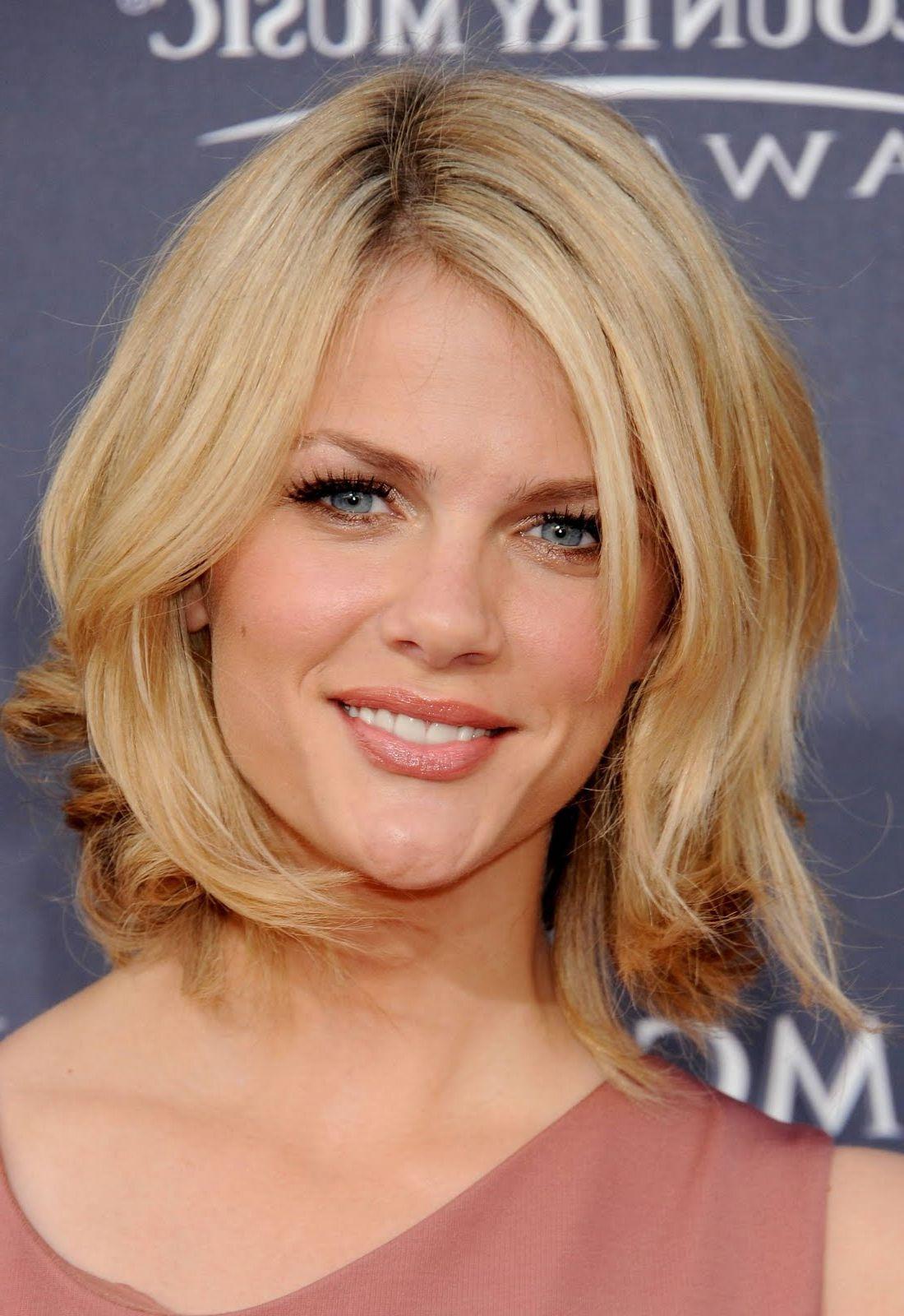 medium length layered hairstyles | layers haircut above