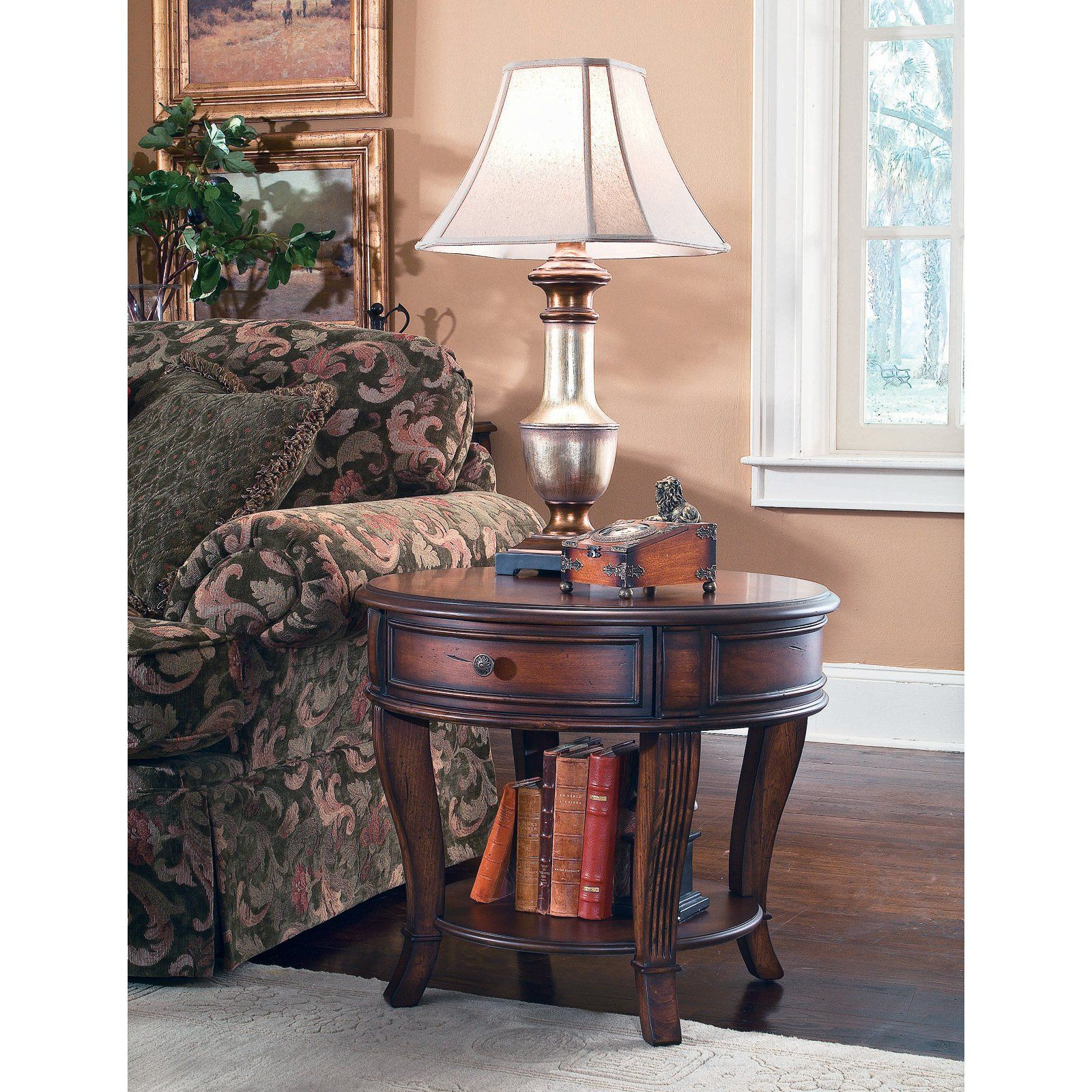 Hooker Furniture Brookhaven Round End Table | From Hayneedle.com