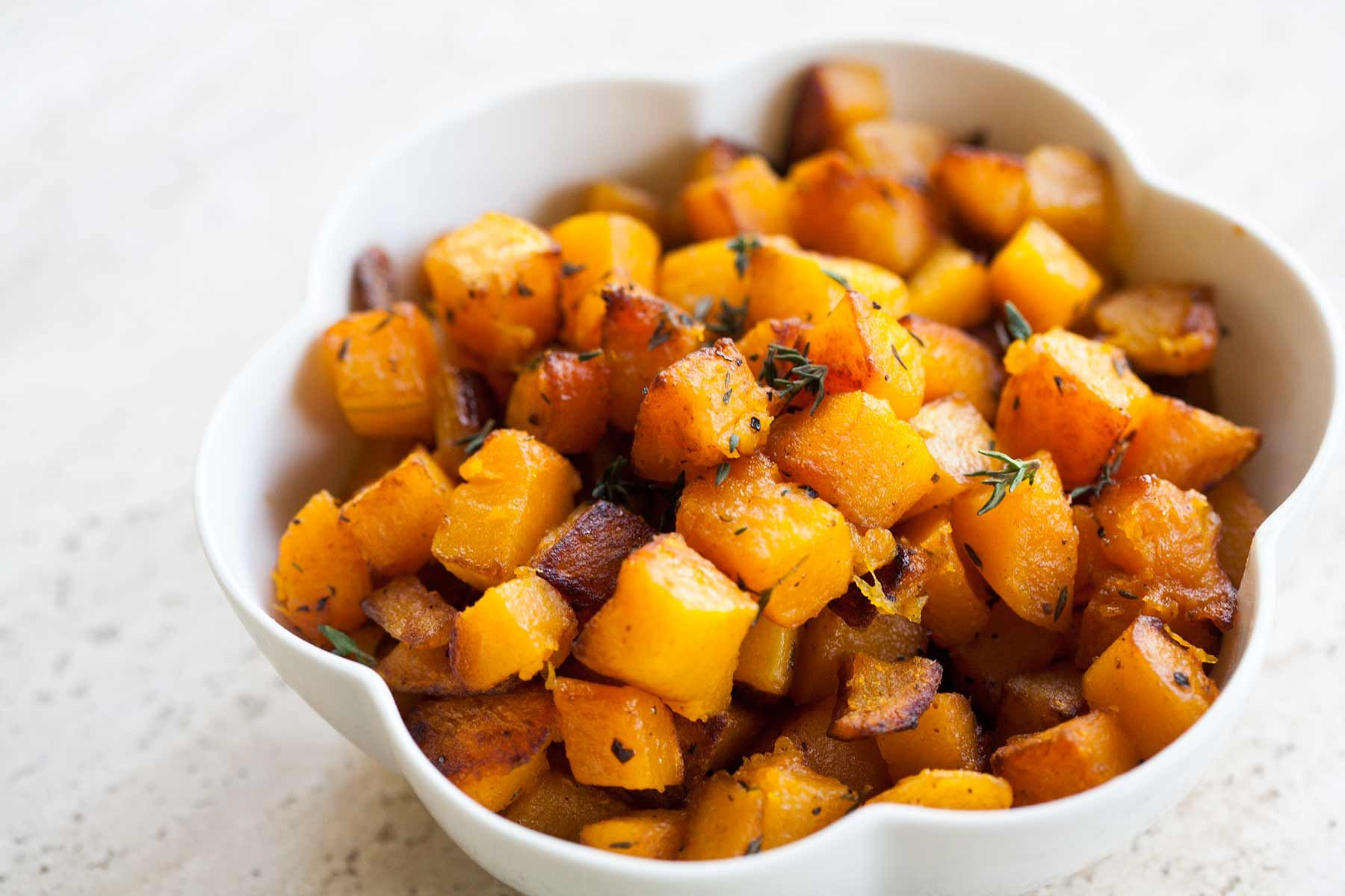 Butternut Squash With Brown Butter And Thyme Recipe With Images