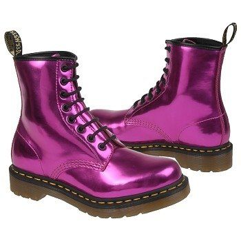 6c1b7da8d868 Dr. Martens Womens 1460 Koram Flash Boots (Hot Pink) | Clothes | Doc ...