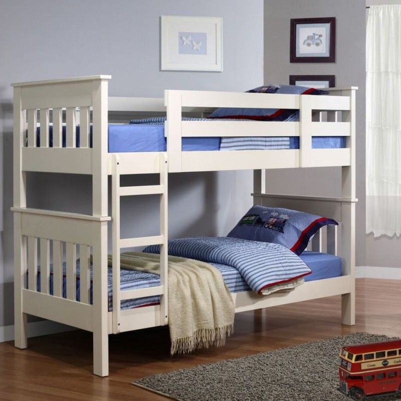 Best Simple White Small Bunk Bed For Kids Small Bunk Beds 640 x 480