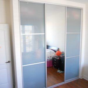 3 Door Sliding Closet Door Track