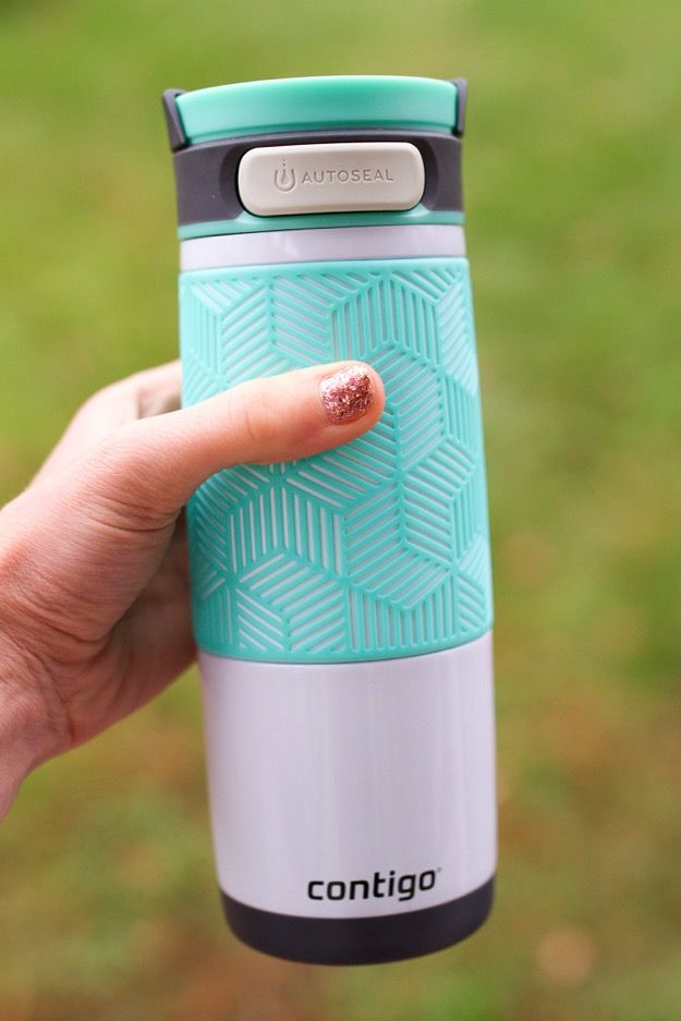 Taking Coffee On The Go With The Contigo Metra Travel Mug