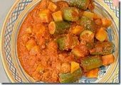 Photo of Stuffed courgettes with stewed potatoes-Zucchine ripiene di …