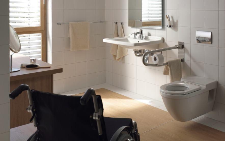 Lavabo para discapacitados ba os para minusvalidos for Duchas para minusvalidos