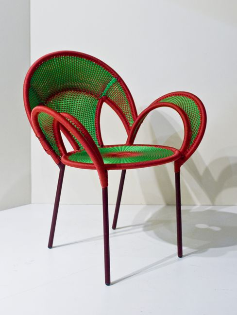 Banjooli Chair Designed By Sebastian Herkner For Moroso, From The M´Afrique  Collection.