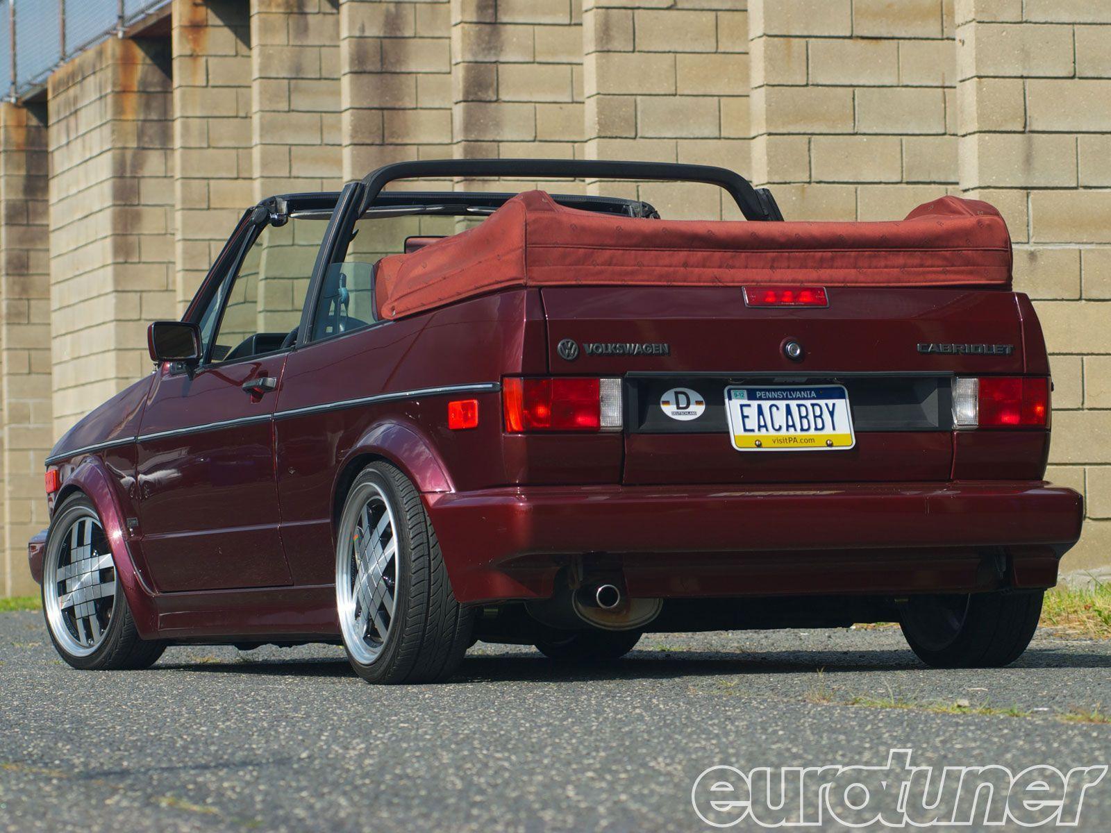 Epcp 1209 02 1991 vw cabriolet etienne aigner edition rear view