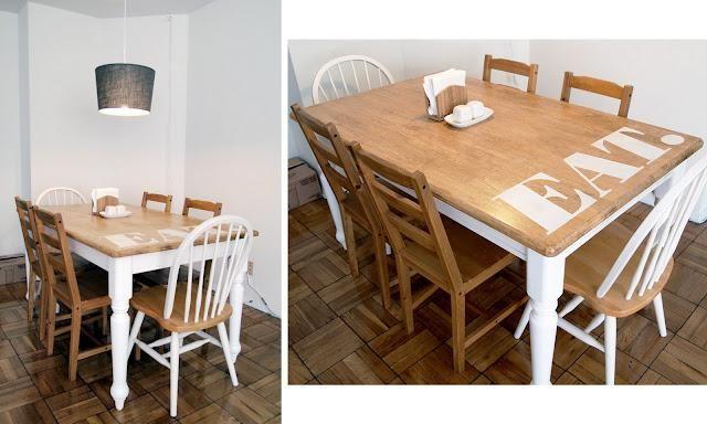 DIY: Muebles | Mesa cocina, El protagonista y Tan sola