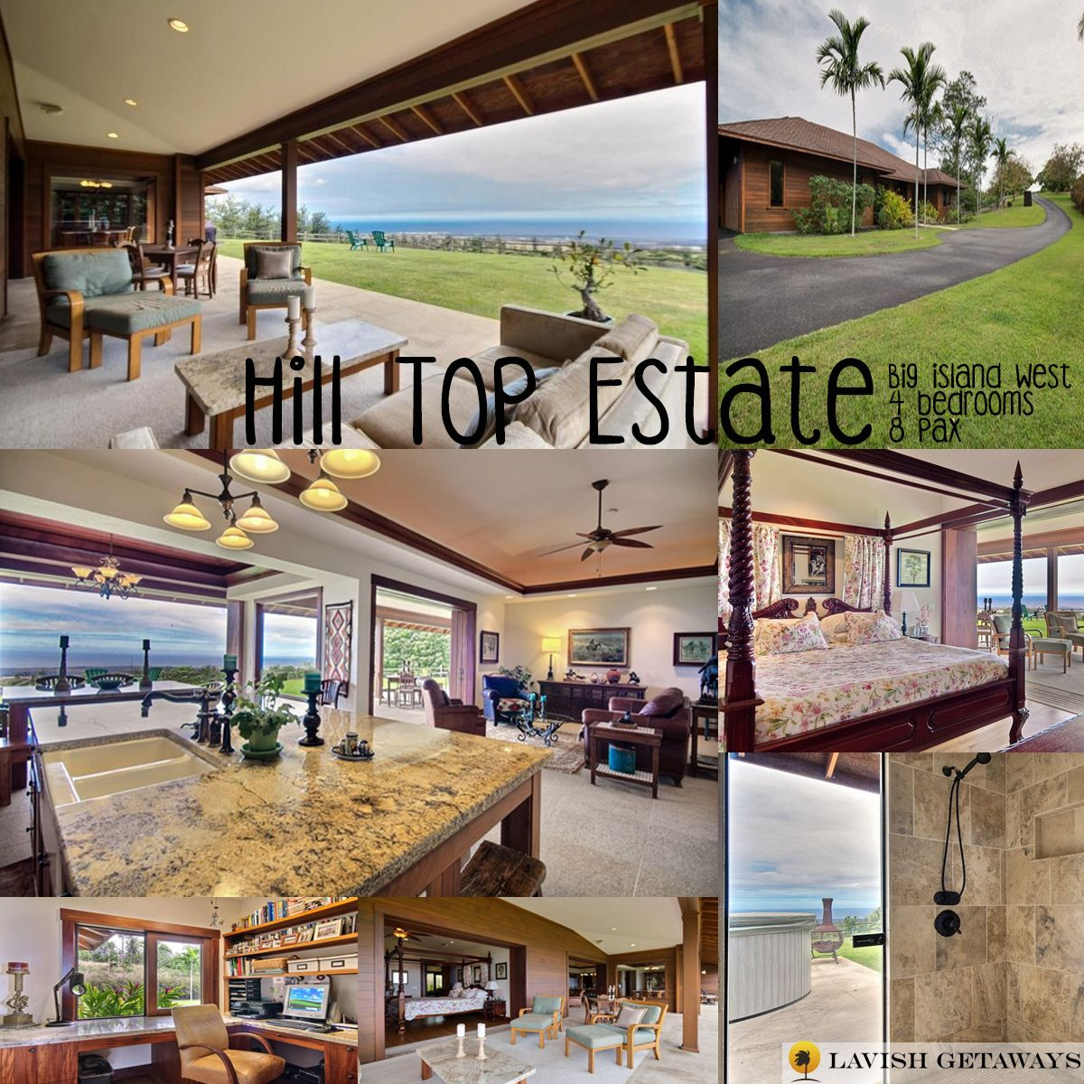 The Hilltop Estate is the perfect destination to relax and enjoy amazing ocean views. The home has an open floor plan, enough for you to relax in green pastures, and the ocean scenery. Enjoy this property on your next vacation! Call 888-799-6920 or email us at Stay@lavishgetaways.com #LavishGetaways #Hawaii #BigIsland #Hawaiistagram #HawaiiLife #VentureHawaii #HawaiiInei #LiveAloha #LuckyWeLiveHawaii #HawaiiBound #Travel #TravelGram #BeachLife #Paradise #Vacation