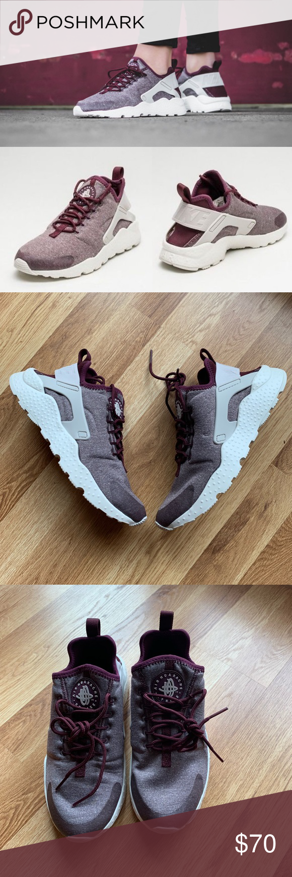 5c0b7a32e72f Nike Air Huarache Run Ultra SE Night Maroon Size 7 New in box Women s size  7 Color  Night maroon bordeaux Smoke free and pet free home Nike Shoes  Sneakers