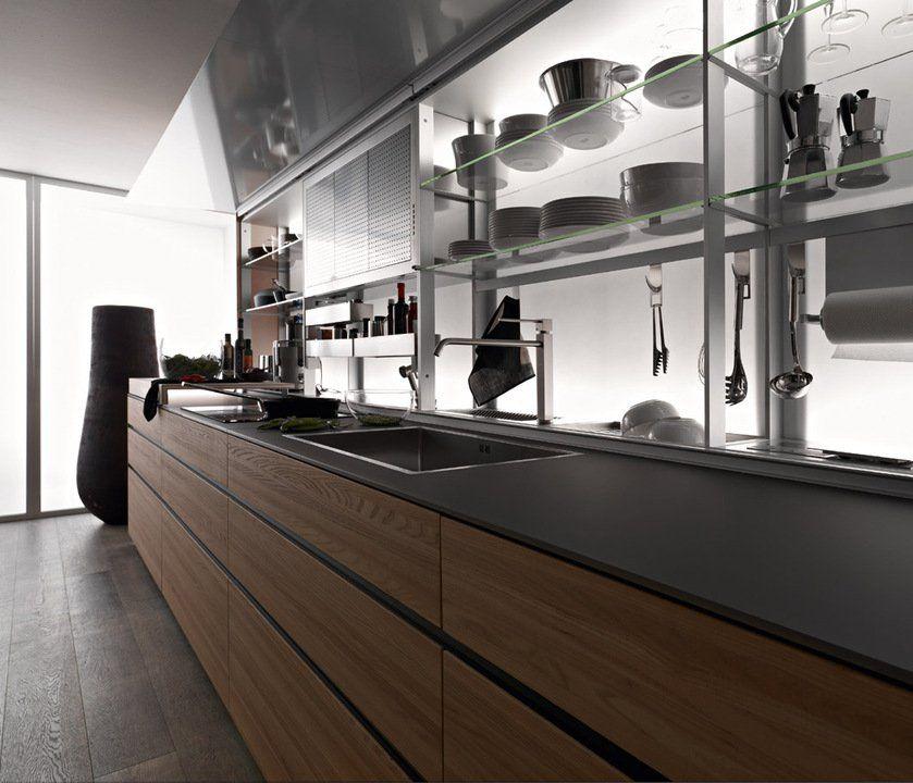 Muebles de Cocina - Nuevo sistema de Logica Valcucine | interiores ...