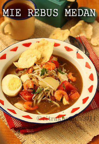 Mie Rebus Medan Indonesian Food Food Recipes