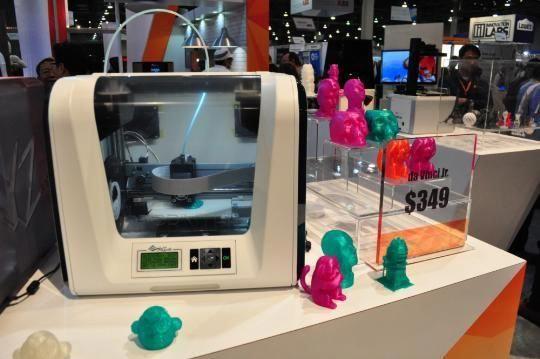 CES 3DDrucker werden billiger heise online