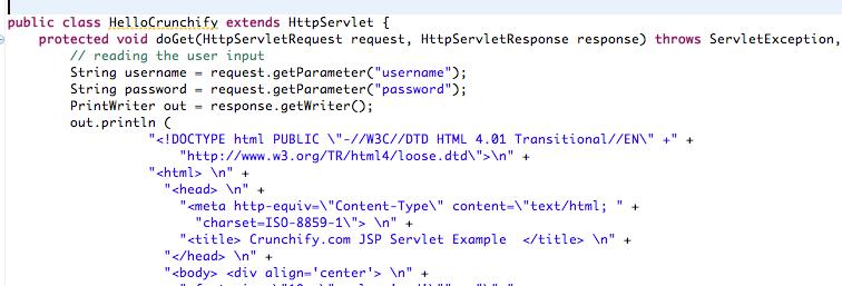 Servlet Tutorial Getting Starting With Jsp Servlet Example
