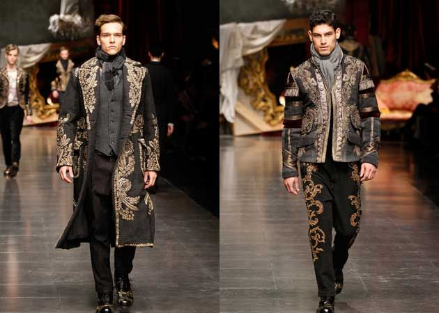 08d389d5a39f Dolce   Gabbana Winter 2013 - Mens Collection - Men Style Fashion ...