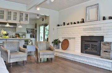 My Houzz: Busy Family Farmhouse - farmhouse - Living Room - Seattle - Kimberley Bryan