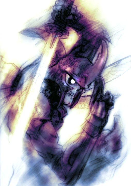 Yoshimitsu Tekken4 Rare Concept Artwork Jpg 507 720 Samurai Art Art Anime Art