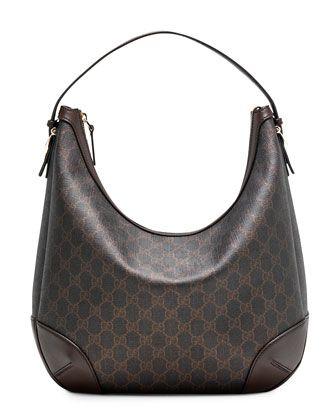 Gucci Nice GG Supreme Canvas Hobo Bag f581a7b12177b