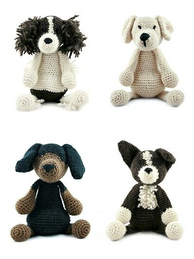 Toft crochet dogs | Häkeln | Pinterest | Häkeln, Stofftiere und Puppen