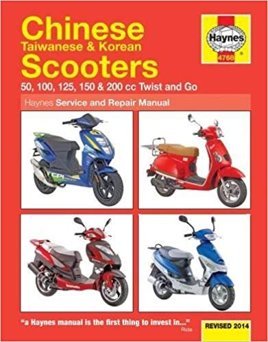 Chinese Taiwanese & Korean Scooters Revised
