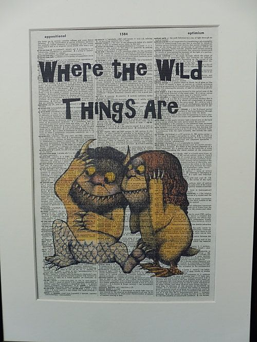 Where The Wild Things Are Wall Art Print No.143 by DecorisDesigns ...
