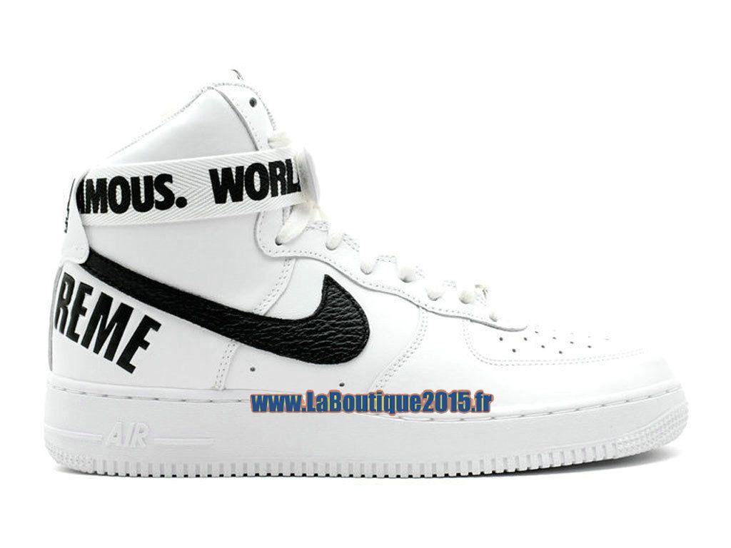 énorme réduction 00dd0 a8ccc Nike X Supreme Air Force 1 High GS - Chaussure Nike Montante ...