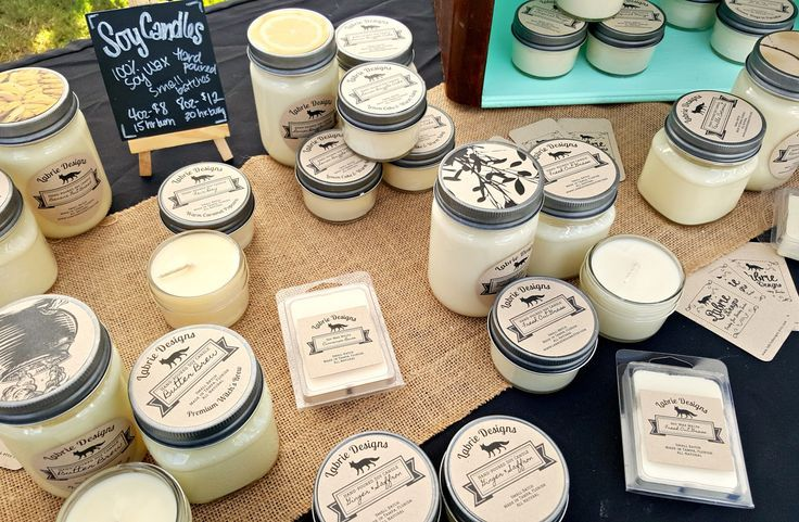 Handmade Candle Making #candlemakingbusiness