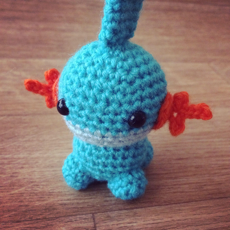 Mudkip (Pokemon #258 Gobou), amigurumi pattern review | Figures ...