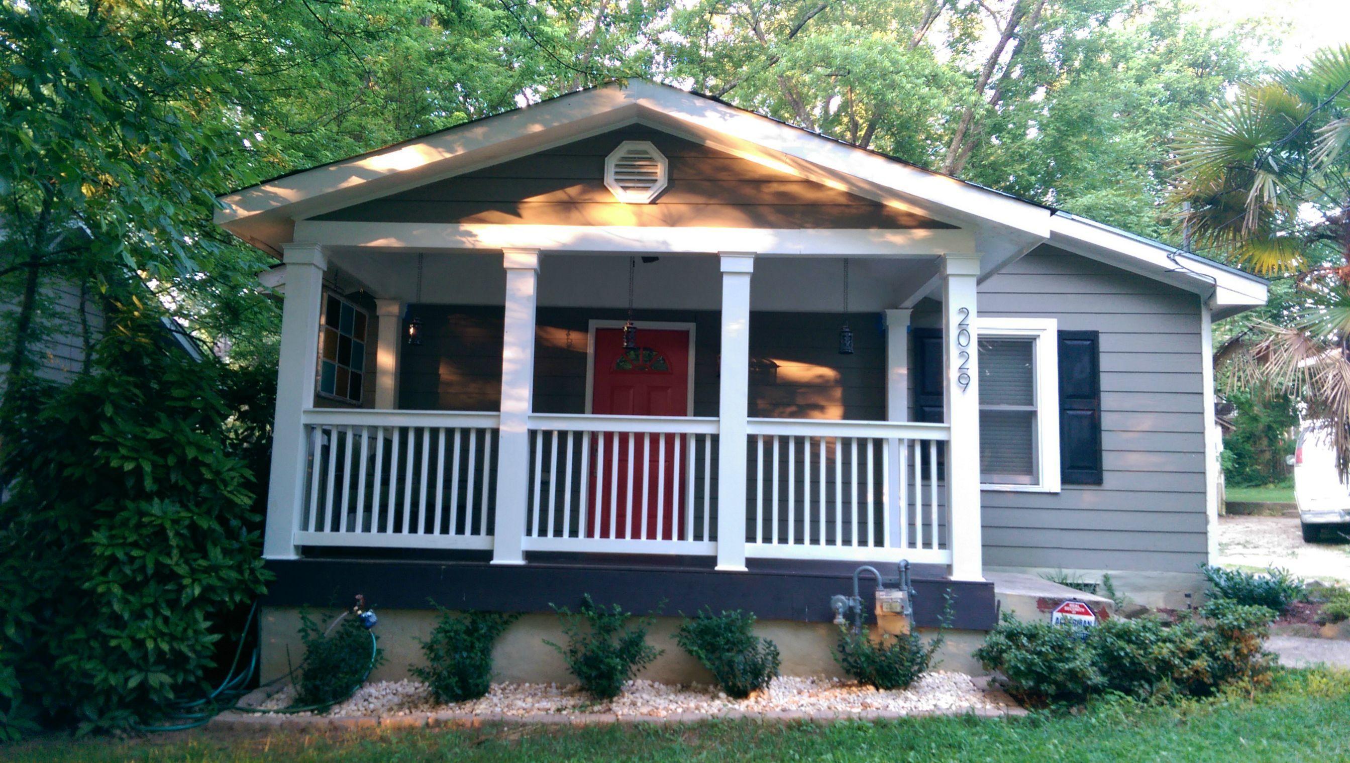 Affordable Front Porch Makeover
