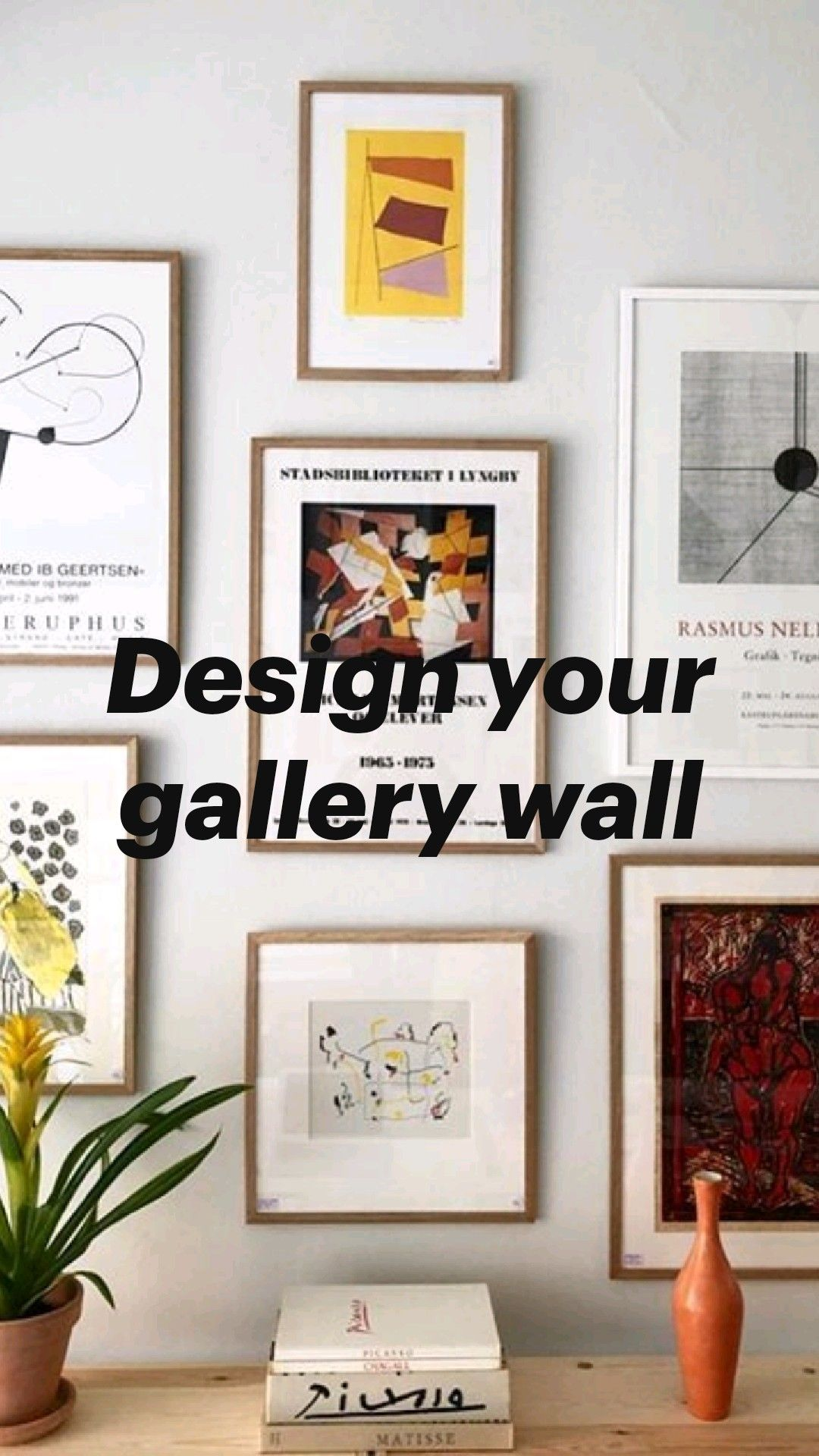 Design your gallery wall