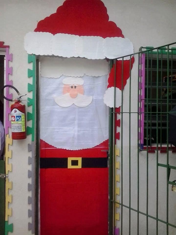 Las navidad es una gran oportunidad para decorar la puerta for Addobbare la porta dell aula