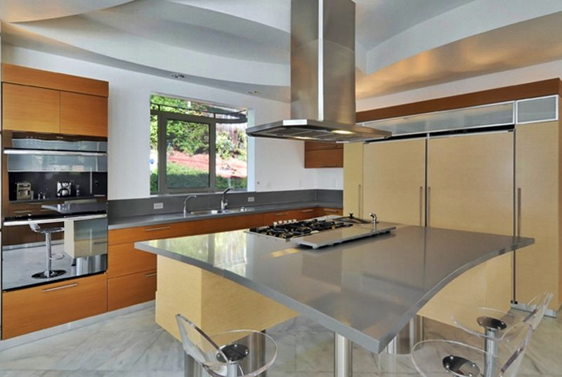 Best Modern Tropical Kitchen Clean And Very Functional Home 400 x 300