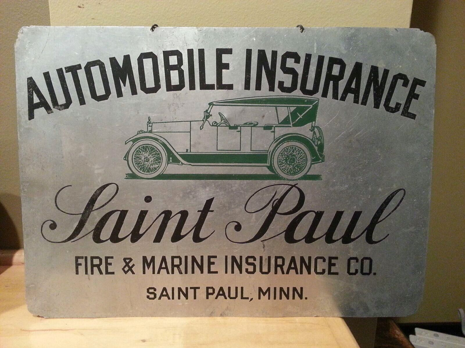 Vintage Auto Insurance Sign Signs Vintage Cars Auto Signs