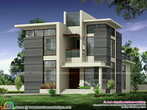 2236 square feet  4 bedroom attached modern contemporary home design by  Greenline Architects   Builders  Calicut  Kerala Good house   Architektur   Pinterest   House  Architecture and Modern. Good Homes Design. Home Design Ideas