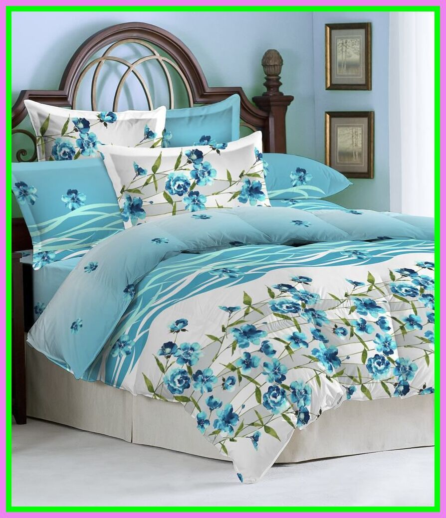 98 reference of single bed sheet blue in 2020