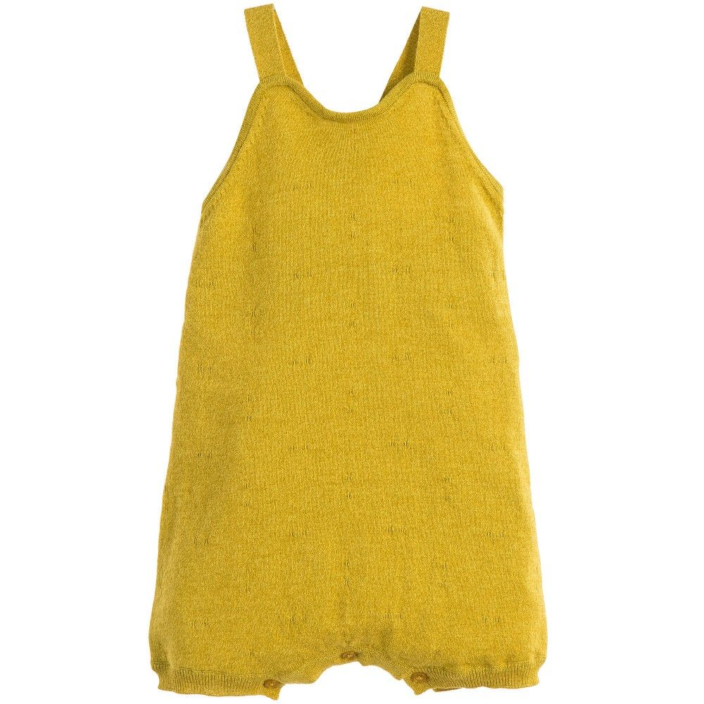 dbbf7b23b2aa Caramel Baby   Child Mustard Yellow Cotton  Jimbu  Baby Shortie at  Childrensalon.com