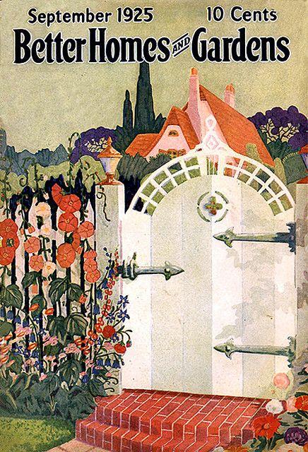 Vintage Magazine Better Homes Garden September 1925
