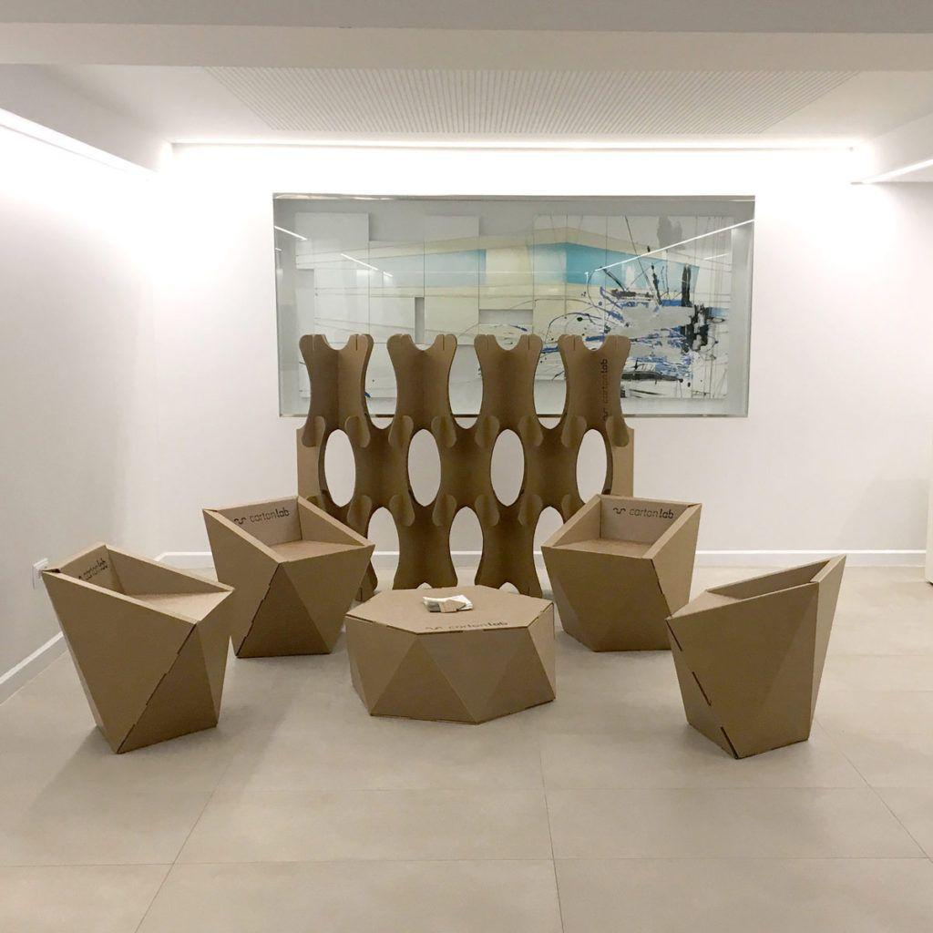 Mobiliario Para Zona De Descanso Arquitectura Y Empresa  # Muebles Garabatos