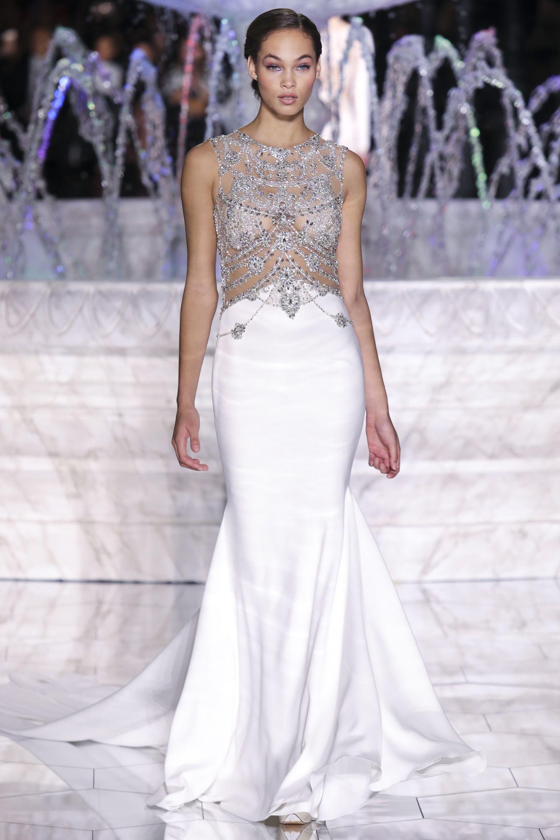 Pronovias spring bridal fashion show the impression wedding
