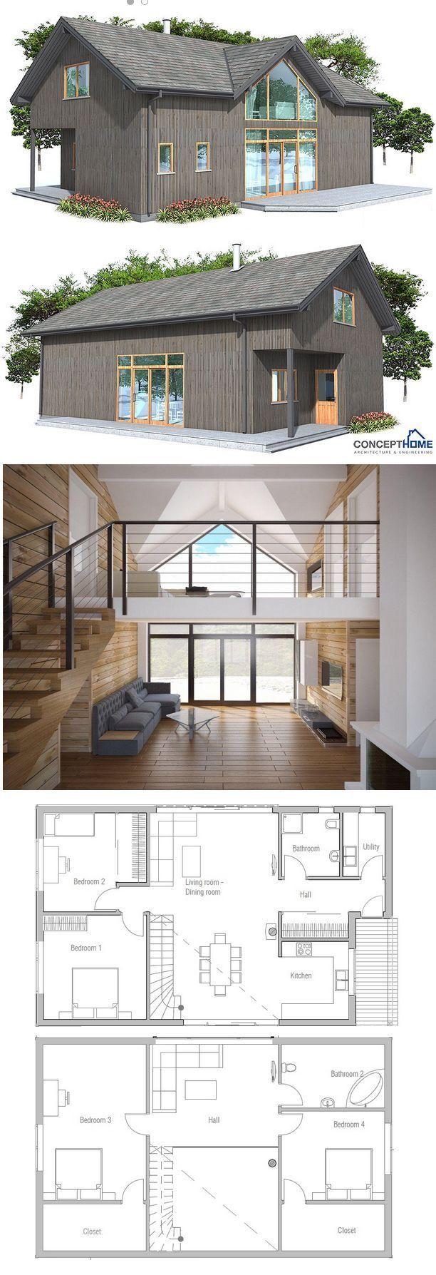 Fascinating Loft House Plans Modern Ranch Style Courtyard Home Floor Best Plan Perky