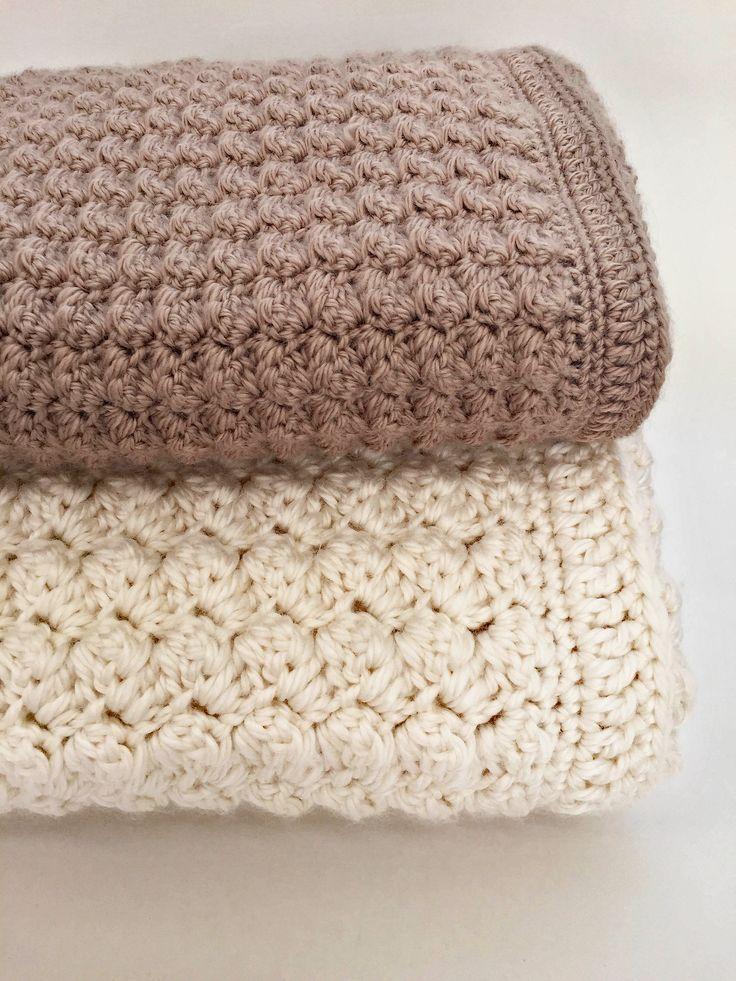 Chunky Blanket Pattern By Deborah Oleary Patterns Crochet Chunky