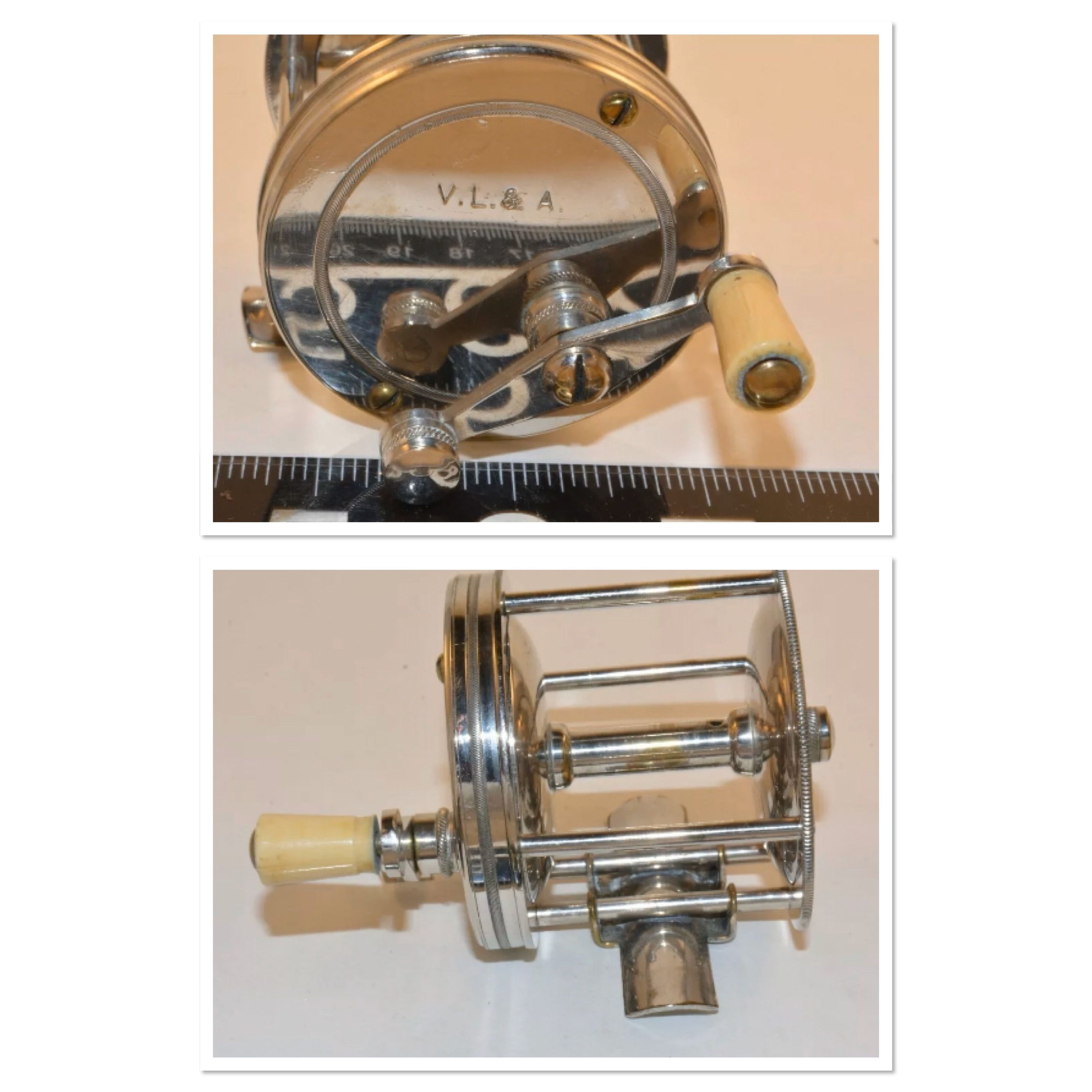 Pin on Collectable / Vintage Fishing Reels
