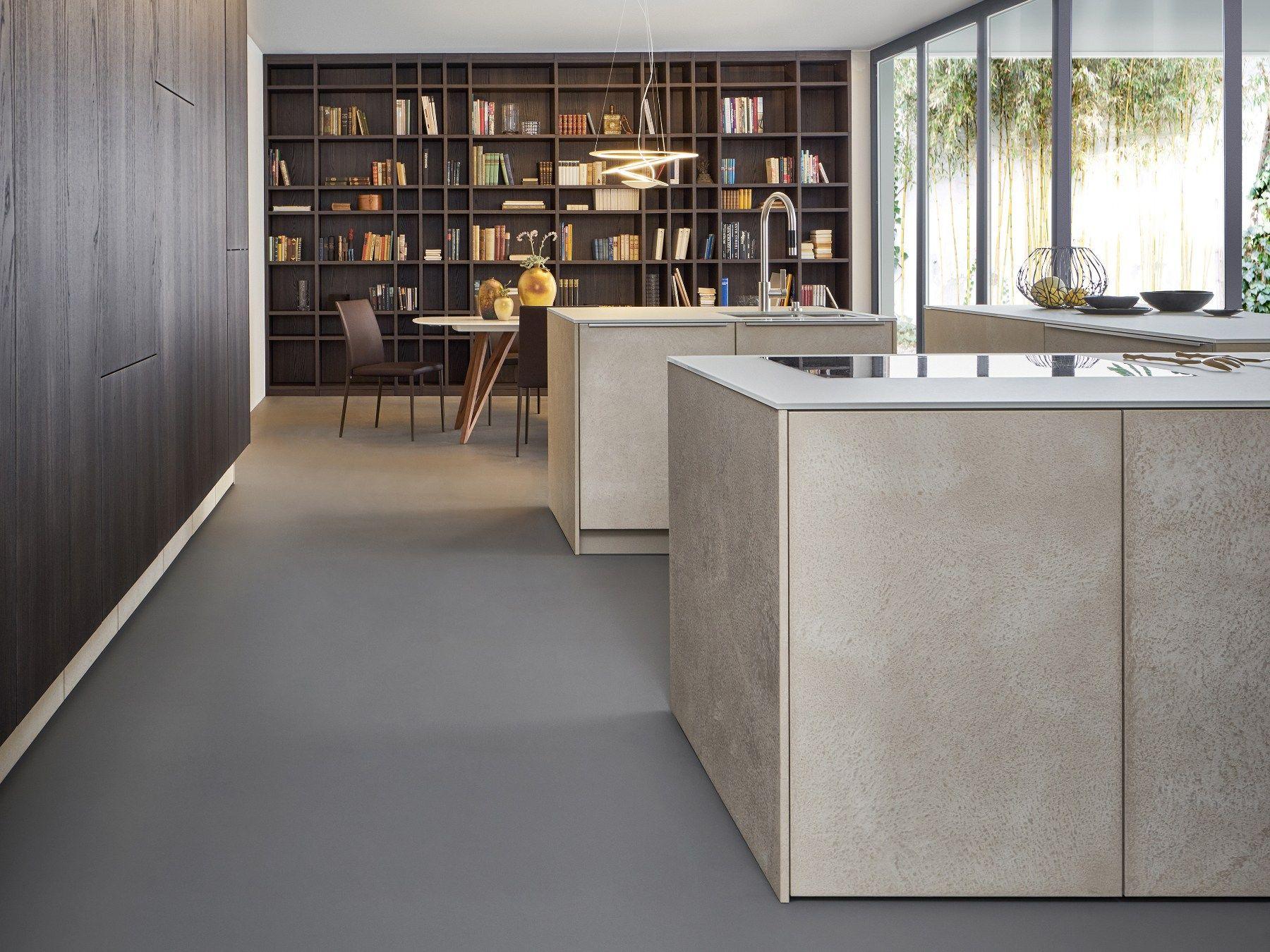 Küchen Leicht preciosa integración de espacios kitchen with island topos