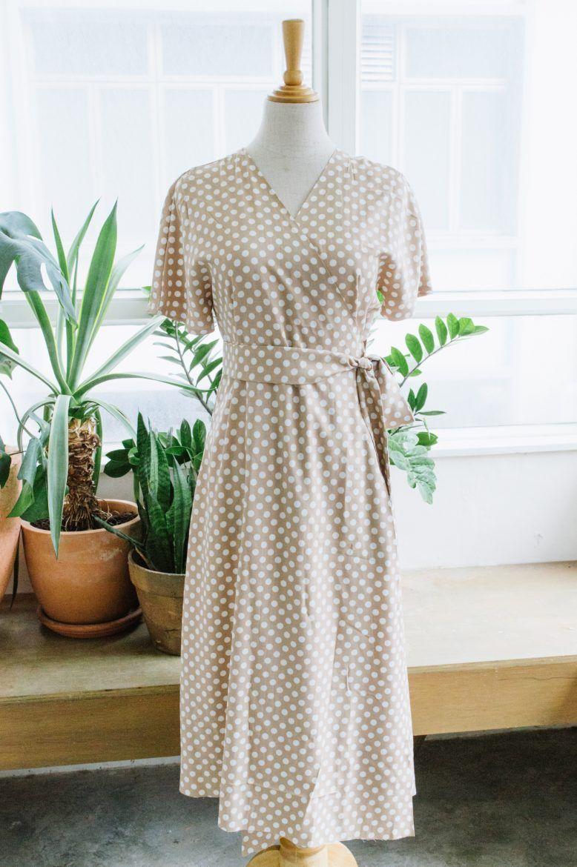 DIY Wrap Dress | Collective Gen -   17 wrap dress 2018 ideas
