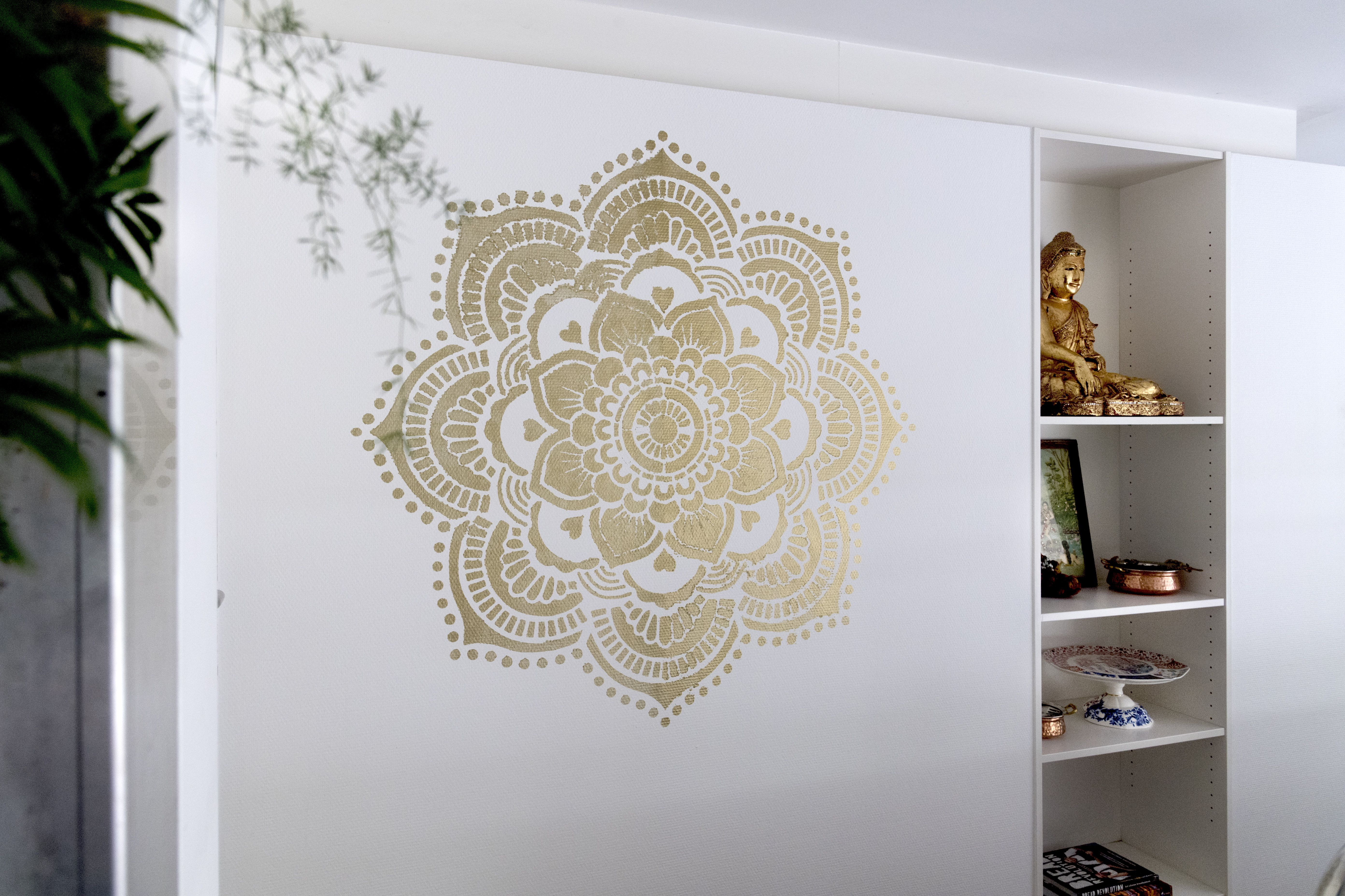 Golden Mandalamake Your Own Mandaladiy Mandala Stencils