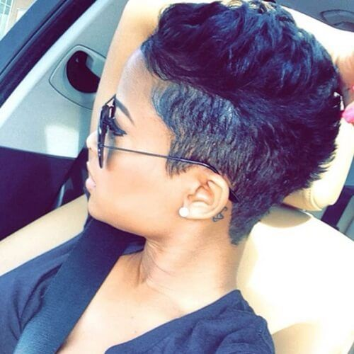 Undercut Hairstyles For African American Women Short Hair Styles Sassy Hair Hair Styles