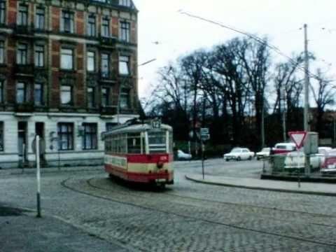Hamburger Straßenbahn   Linie 12 in Hamburg Harburg 1971