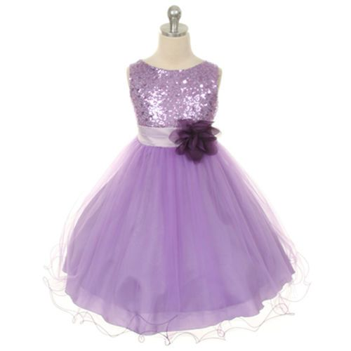 Flower Girl Dress Wedding Bridesmaid Pageant Birthday Formal Recital Party Dance
