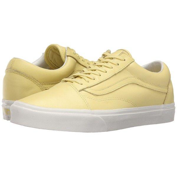 Vans Old Skool ((Pastel Pack) Yellow Cream/Blanc de Blanc) Skate